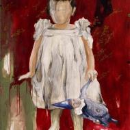 Petra Cepková, Matilda, 81 x 101 cm, akryl na plátne, 2009